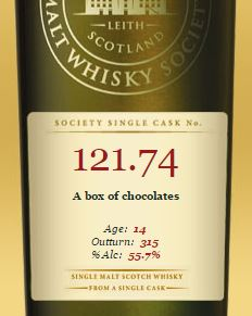 SMWS A Box of Chocolates