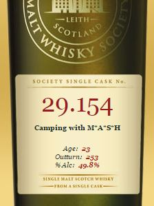 SMWS Camping with MASH